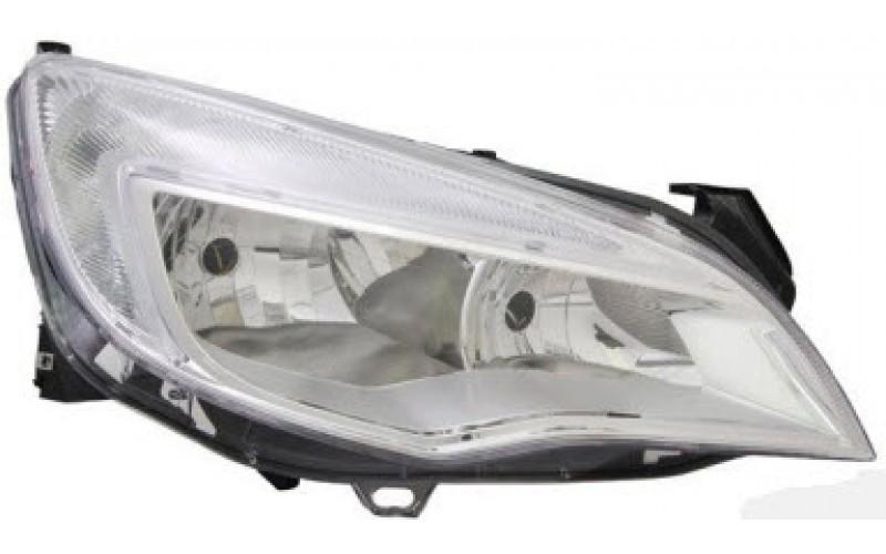 Фара правая Opel Astra J 09-13 хром