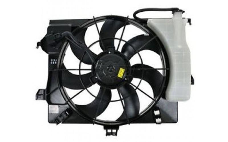 Вентилятор СОД Hyundai Solaris 10-17/Kia Rio IV 11-