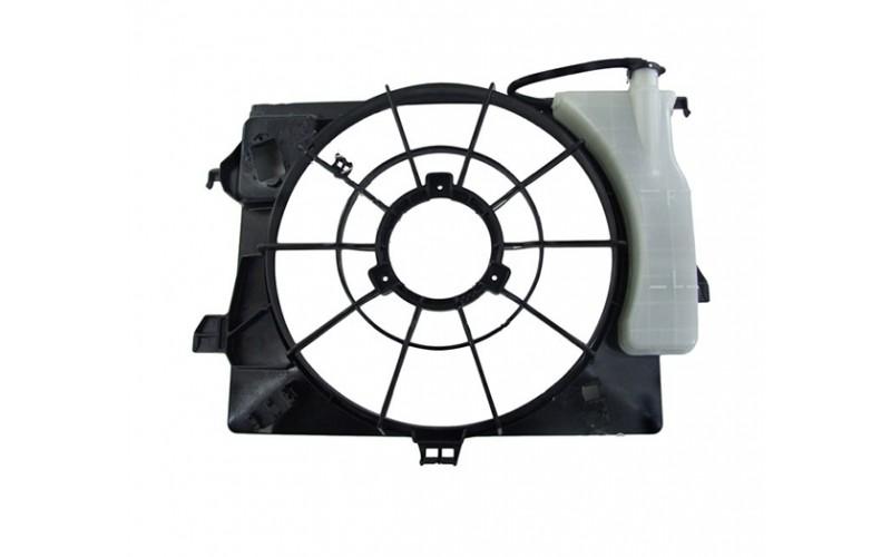 Диффузор вентилятора Hyundai Solaris 10-17/Kia Rio IV 11-
