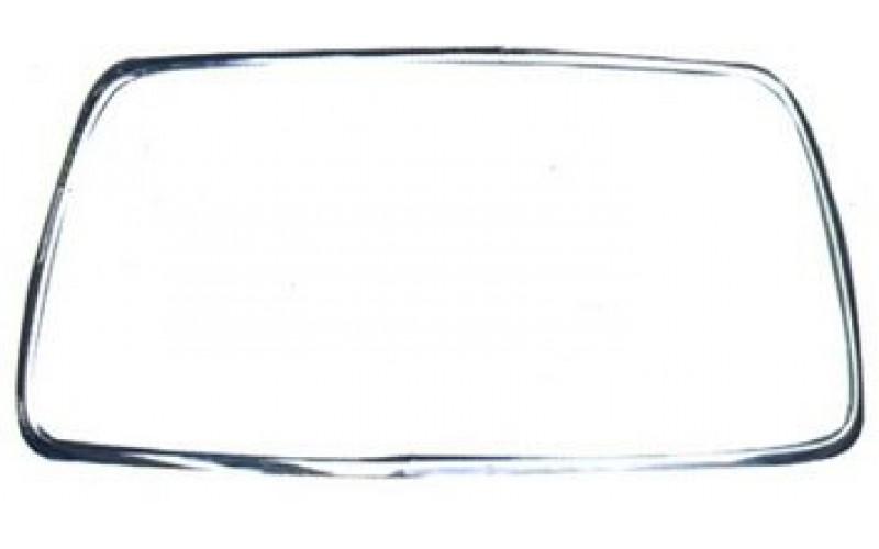 Молдинг переднего бампера Mitsubishi Lancer X 10-