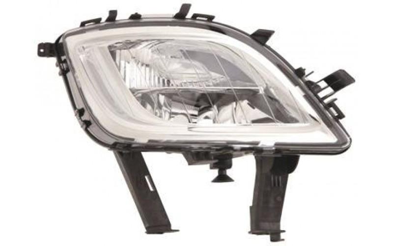 Фара противотуманная правая Opel Astra J 09-13 хром