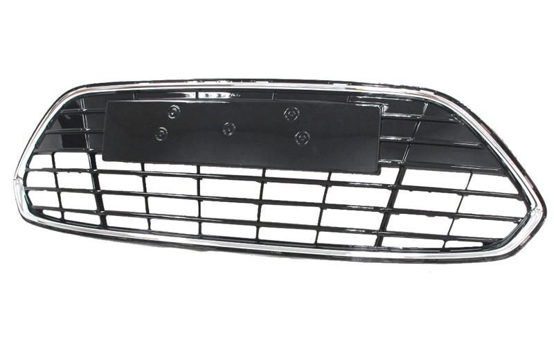 Решетка бампера Ford Mondeo IV 11- с хромом