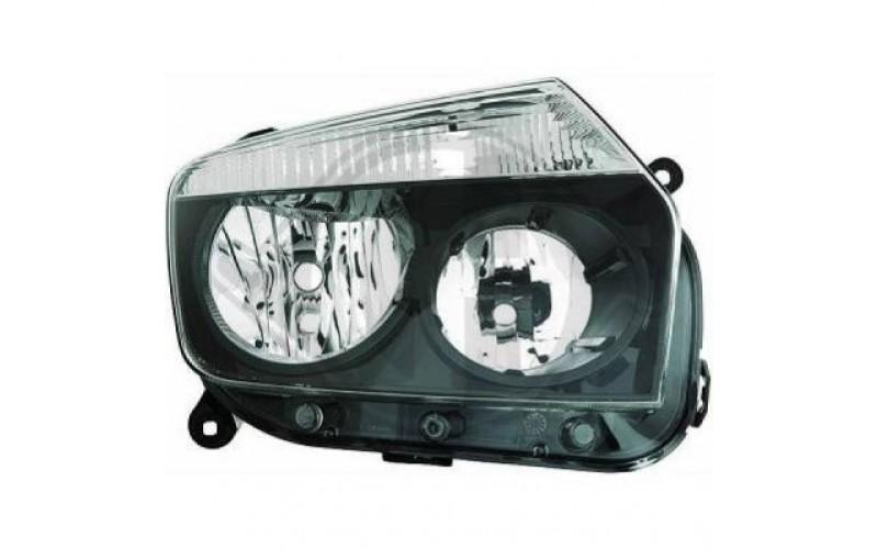 Фара правая Renault Duster 10-15 черная