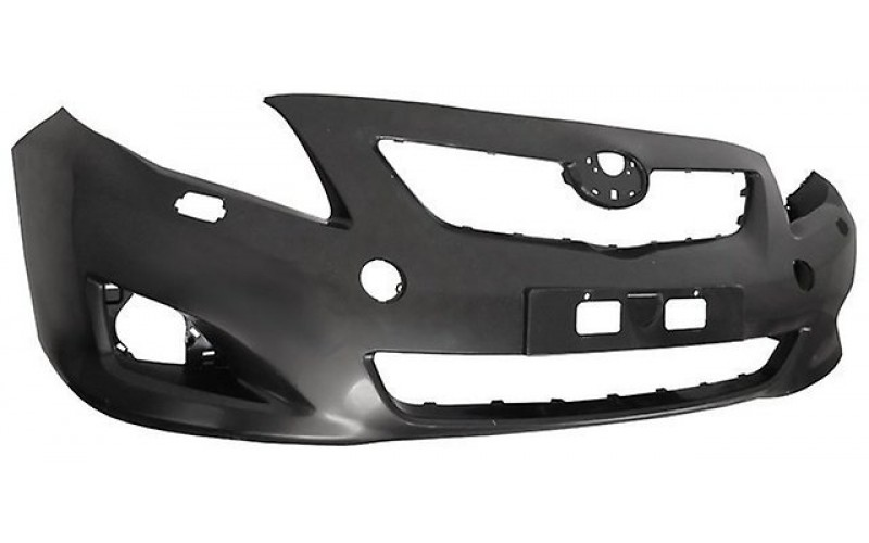 Бампер передний Toyota Corolla E150 06-10 под омыватели