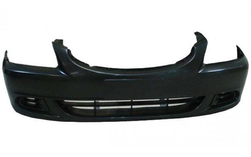 Бампер передний Hyundai Accent 03- без ПТФ
