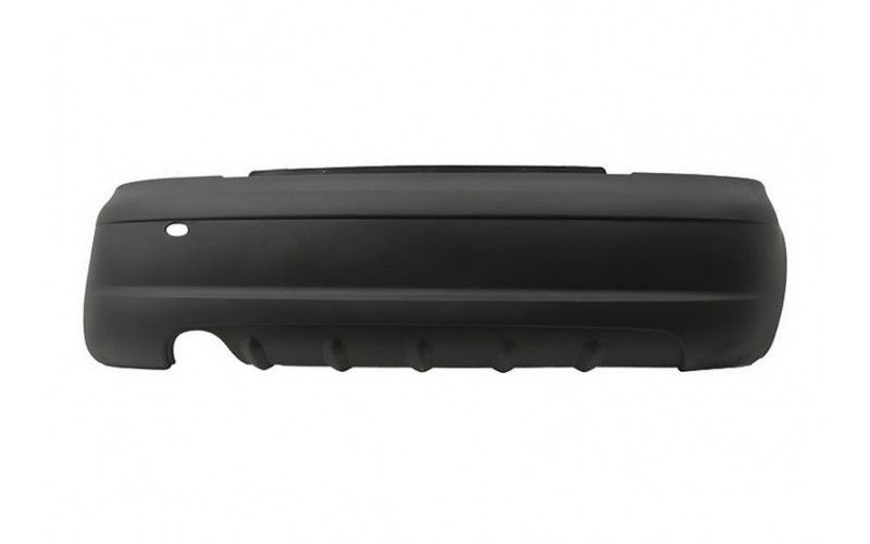 Бампер задний Daewoo Matiz 01-