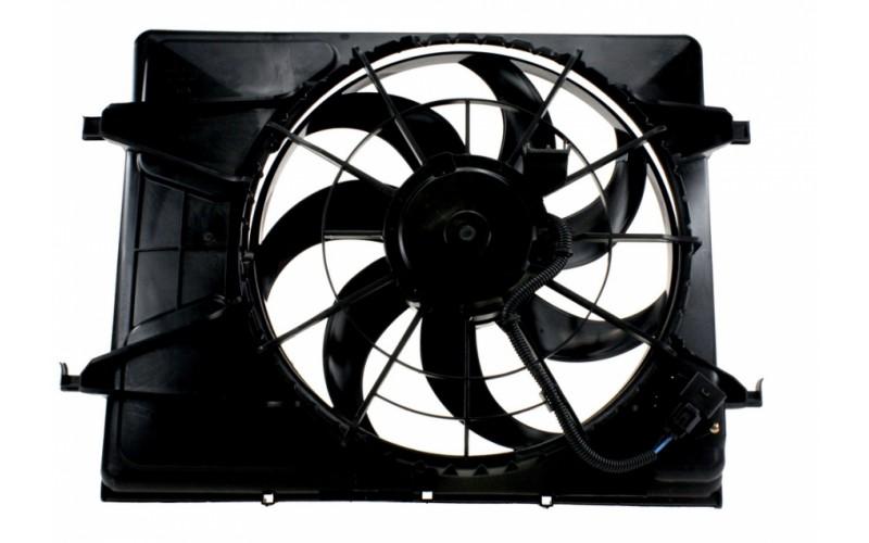 Вентилятор СОД Hyundai Elantra 06-/Kia Ceed 06-12