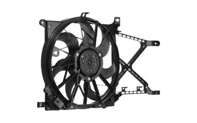 Вентилятор СОД Opel Astra H 04-