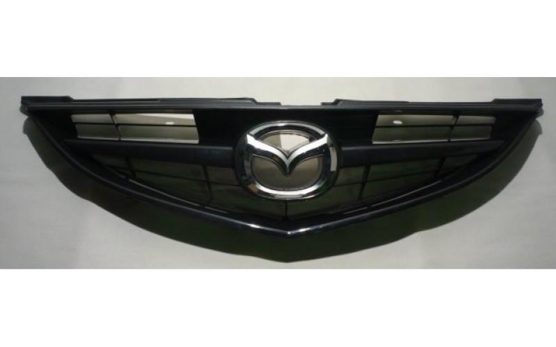 Решетка радиатора Mazda 6 08-10 Sport с эмблемой