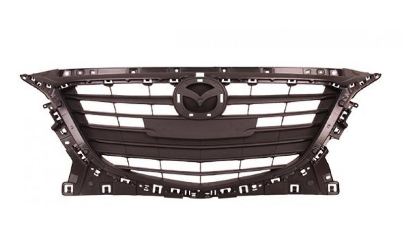 Решетка радиатора Mazda 3 13- в сборе