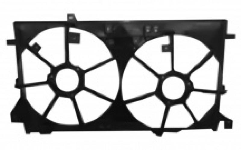 Диффузор вентилятора Mazda 3 09-13 1.6