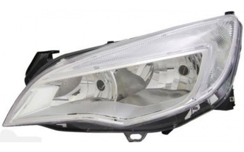 Фара левая Opel Astra J 09-13 хром