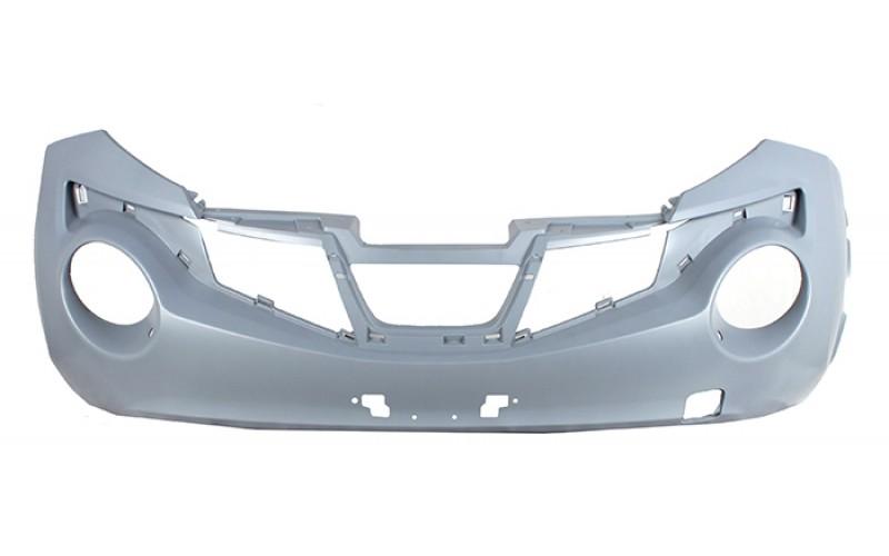 Бампер передний Nissan Juke 11-14 под омыватели
