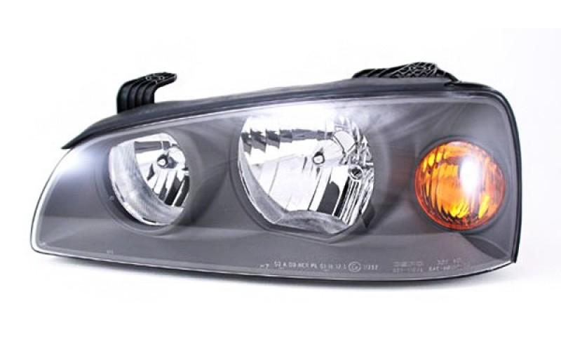 Фара левая Hyundai Elantra 03- черная